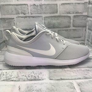 NEW Nike Roshe G Golf Shoes Pure Platinum